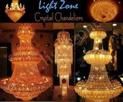 CRYSTAL CHANDELIERS, IMPORTED LIGHT, POLE LIGHT, DECORATIVE LIGHTS,  LAMPS
