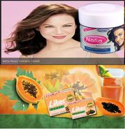 Nafia Magical Fairness Cream and Likas Papaya Soap from Jeddah, UAE
