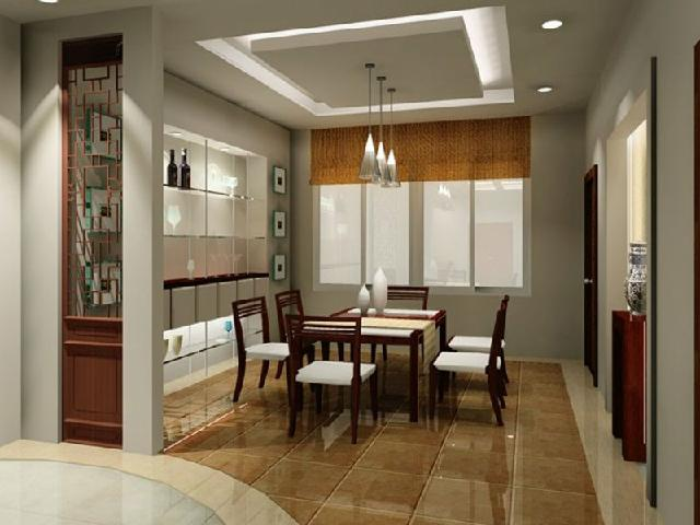 False ceiling contractors in chennai tamil nadu for Dining room designs 2013