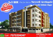 DTCP APPROVED FLAT FOR SALE IN NEYVELI ARCH GATE