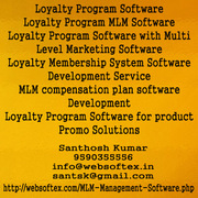 Loyalty Program with Multi Level Marketing Software in Chennai