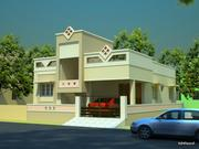 Independent House of 3BHK,  2400 Sq Fts Building Area With Garden.