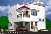 Independent House of 3BHK,  2500 Sq Fts With Two Space Of Two Cars.