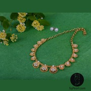 Gold Plated Jewellery - Golden Royal Pearl Necklaces