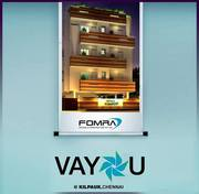 Fomra Housing Offers 2 BHK and 3 BHK Luxury Apartments in Kilpauk
