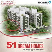 Fomra Housing Offered Affordable flats in mogappair