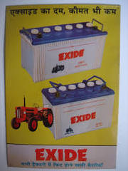 EXIDE , EXIDE CAR BATTERIES, EXIDE AUTOMOTIVE BATTERIESTUBULAR BATTERY