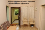 Holiday extended stay - Service Appartment in Mogappair,  Chennai