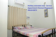 Holiday extended stay,  Service Appartment Mogappair
