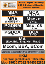 MBA Part Time distance education