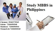 Get Admission for MBBS in Philippines