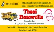 Thaai borewell