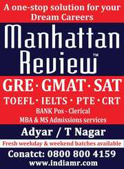 GMAT Preparation in Chennai