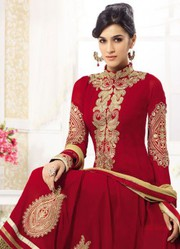 Latest Maroon Fabulous Designer Anarkali Suits only on rs.1499/-