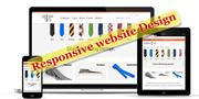 Smart phone responsive website design