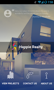 Real Estate Mobile App Brochure - Happie Realty