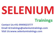 Learn Selenium Online Trainer at Chennai