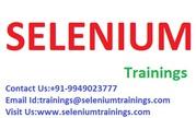 Certified Selenium   Trainer in Chennai