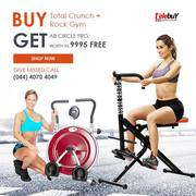 Buy  Total Crunch + Rock Gym Get AB Circle Pro Worth Rs. 9995 Free