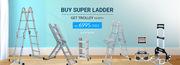 Buy Super Ladder Get Trolley Worth Rs. 6995 Free