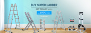 Buy  Super Ladder Get Multifunction Foldable Trolley at Telebuy