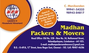 Madhan Packers and Movers Velandipalayam