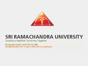 sri ramachandra medical college mbbs admission 2016