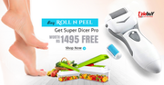 Buy Roll N Peel n get Super Dicer Pro worth Rs 1495