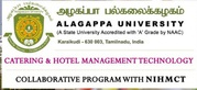 Hotel Management and Catering courses by Alagappa University-NIHMCT