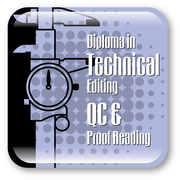 Diploma in Technical Editing,  QC & Proof Reading