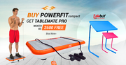 Buy  Power Fit Compact  Get Tablemate Pro at Telebuy