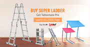 Buy Super Ladder Get Tablemate Pro Worth Rs 2500 FREE
