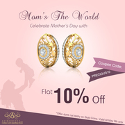Flat 10%off on gold jewellery collection-Aurobliss