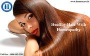 Stronger and Healther hair with Homeopathy