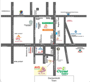 Approved Residential Plots for sale in Denkanikottai Road@RS:549/