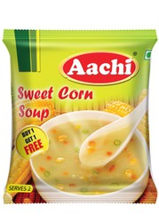 Tasty Sweet corn soup recipe  | Buy Now On aachifoods at Rs.45