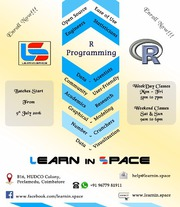 Join R programming language course in coimbatore