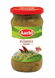 Mint Thokku / Pudina Thokku | On Aachi foods at RS.50