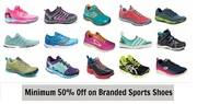 Get Sports Shoes and Apparel Up To 50% Off