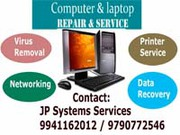 LAPTOP COMPUTER REPAIR SERVICE AVADI JP SYSTEMS@7845555300