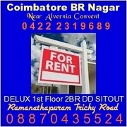 2BHR I Flr House cum Office Purpose Opp Stock exchange Coimbatore.