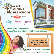 Learn & Grow with Aachi Global Preschool !