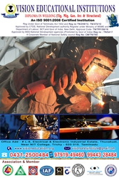 WELDING TRAINING  COURSES IN TRICHY