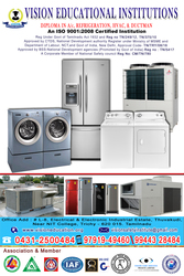 AC / REFRIGERATION TRAINING  COURSES IN TRICHY