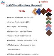 KAG TILES - DISTRIBUTORS REQUIRED