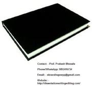 Professional Black book printing services in Coimbatore for MBA projec