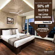Hotel Room Booking Chennai - Get 50% off on website Booking