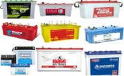 Buy Inverter Battery Online - Exide,  Amaron,  Okaya,  SF Sonic,  Luminous
