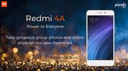 Buy Xiaomi Redmi 4A Best Price in India on poorvikamobiles