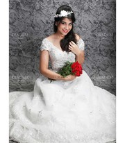 Christian wedding gown sale in Chennai at Diadem Bridal.